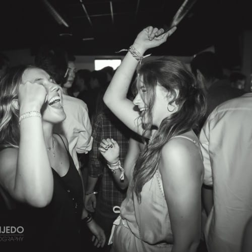 Fotografía en evento nocturno