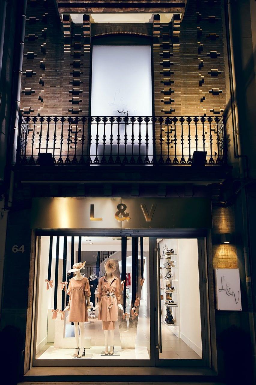 Fotografía Interiorísmo en comercio L&V Castellón