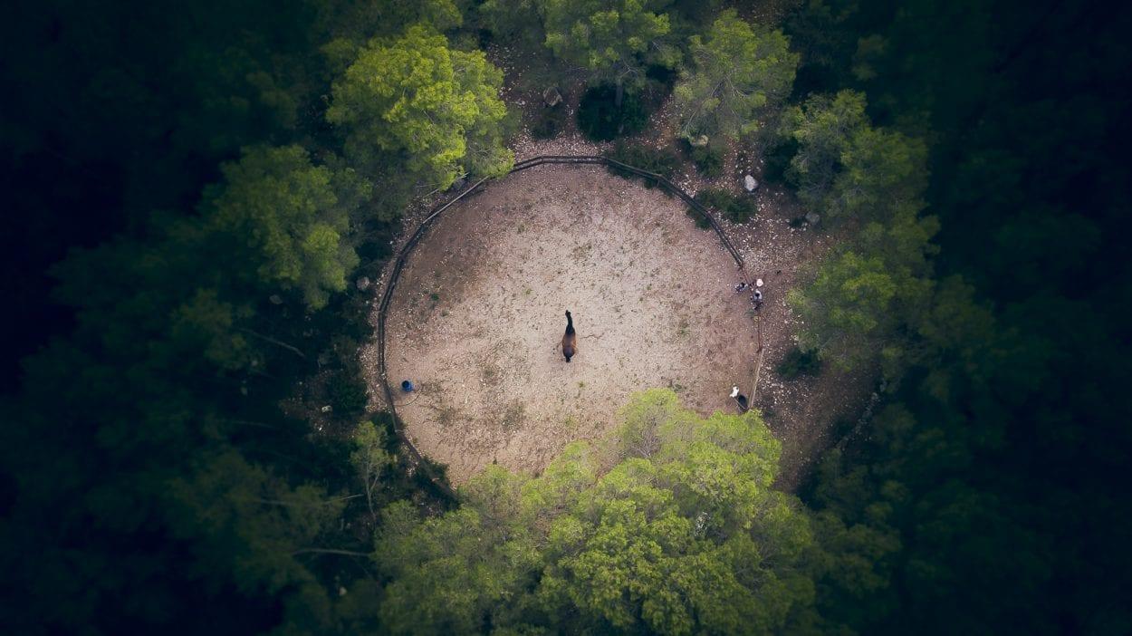 Fotografía aerea con dron