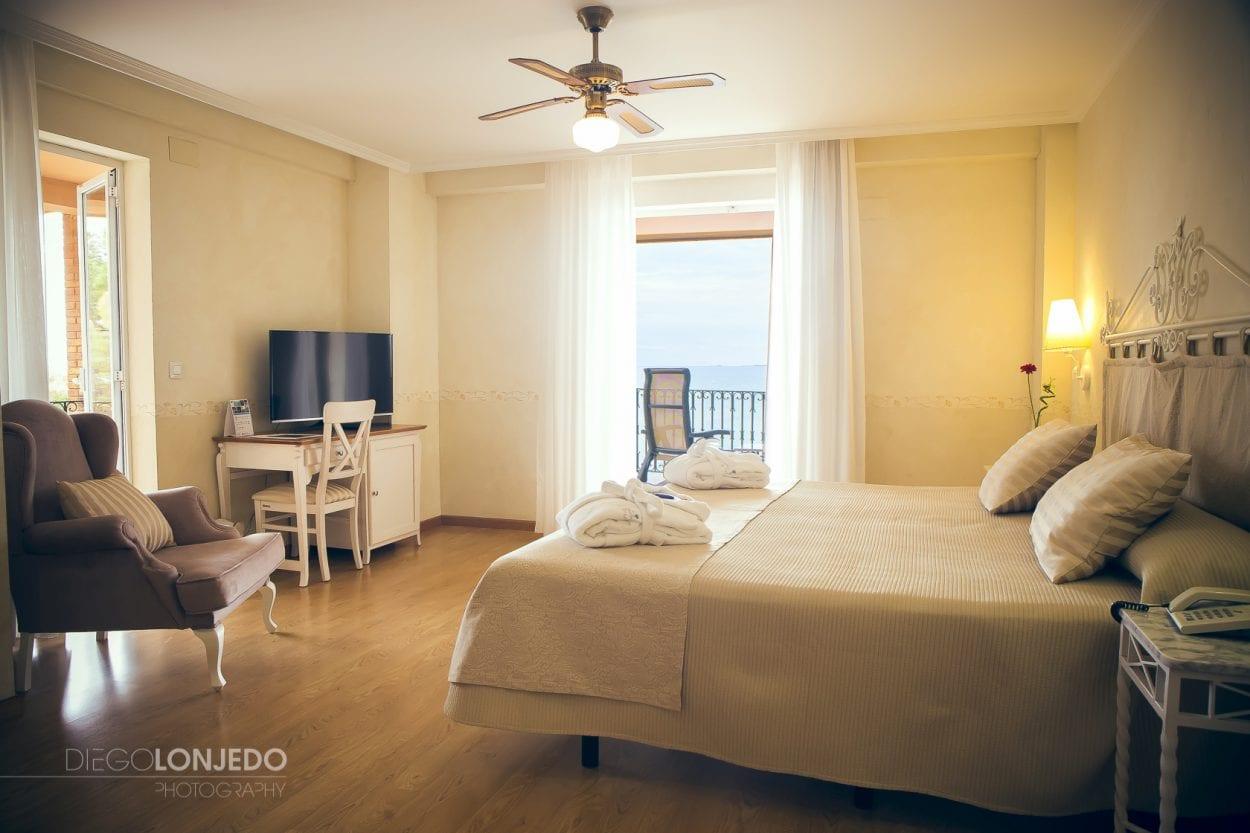 Fotografía de interiorismo en el hotel El Palasiet