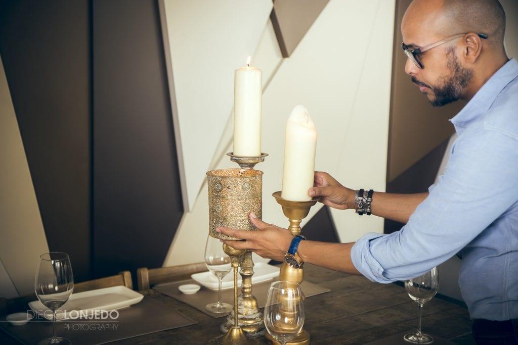 Fotografía interiorísmo en restaurante Umami