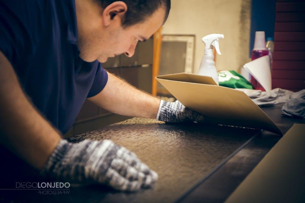Fotografía de producto revisión de azulejos