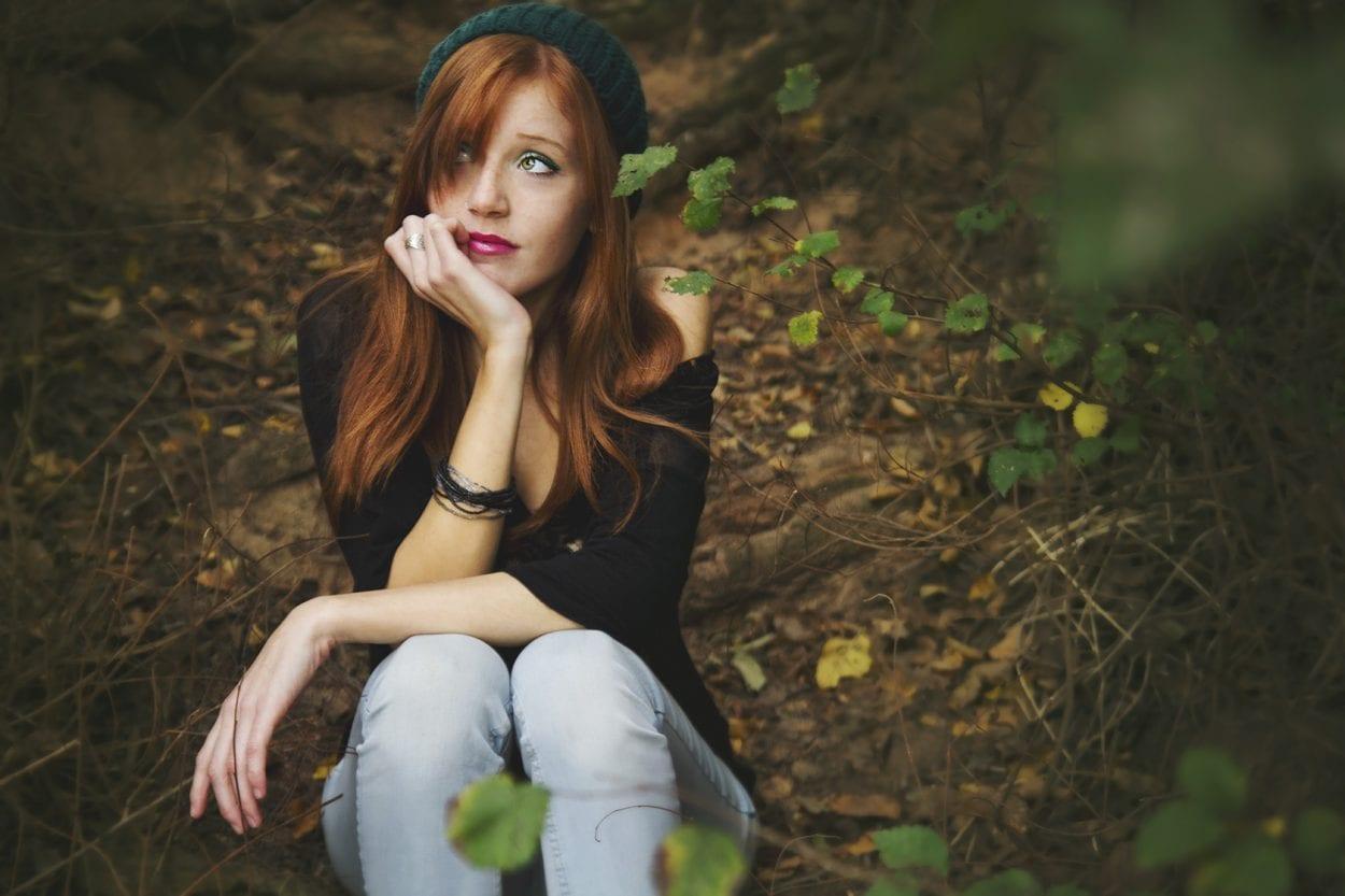 Fotografía de retrato a Paula Barreda en el Clot