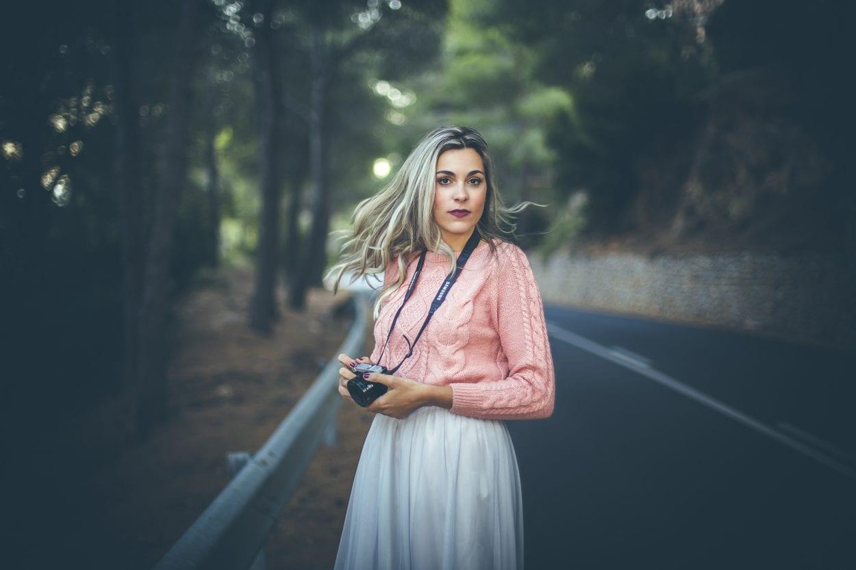 Fotografía de retrato a Paula en Castellón