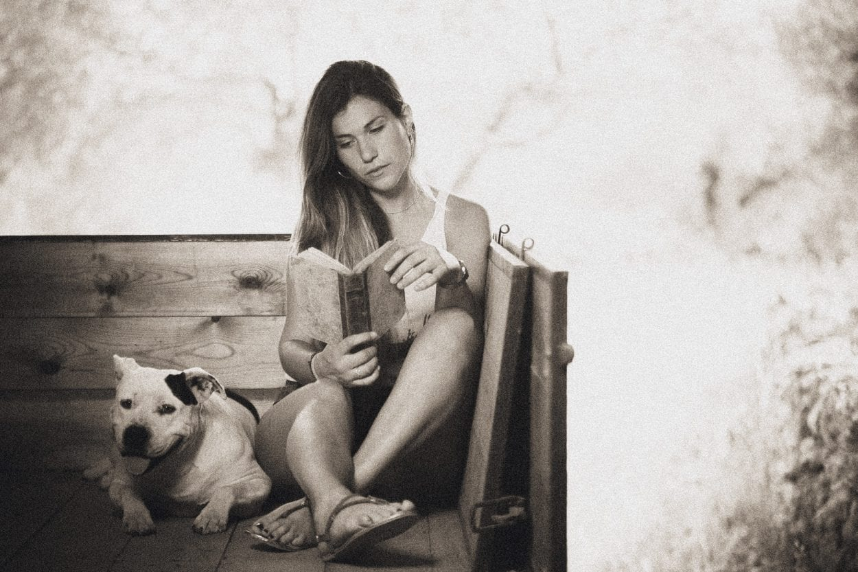 Fotografía de retrato a Saray en Useres