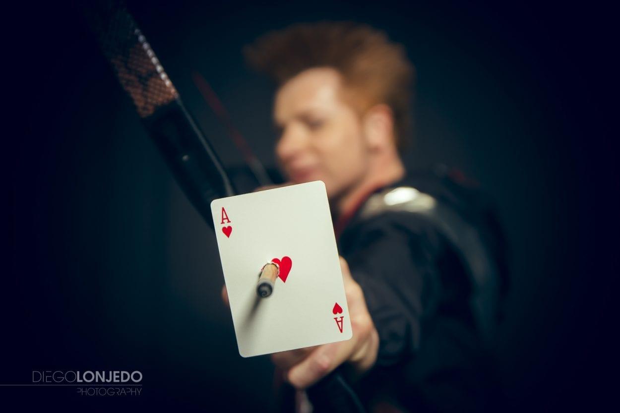 Fotografía de retrato al mago Yunke