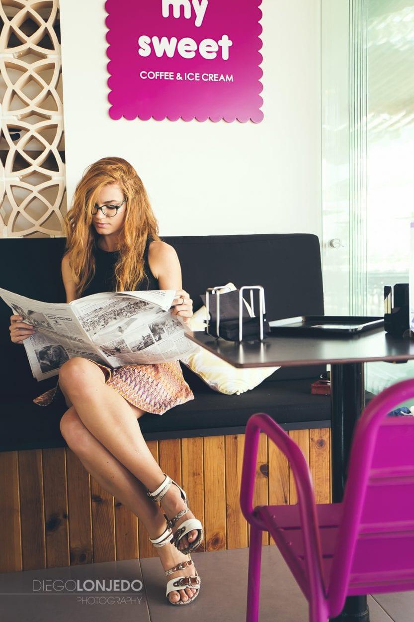 Retrato en La cafetería My Sweet