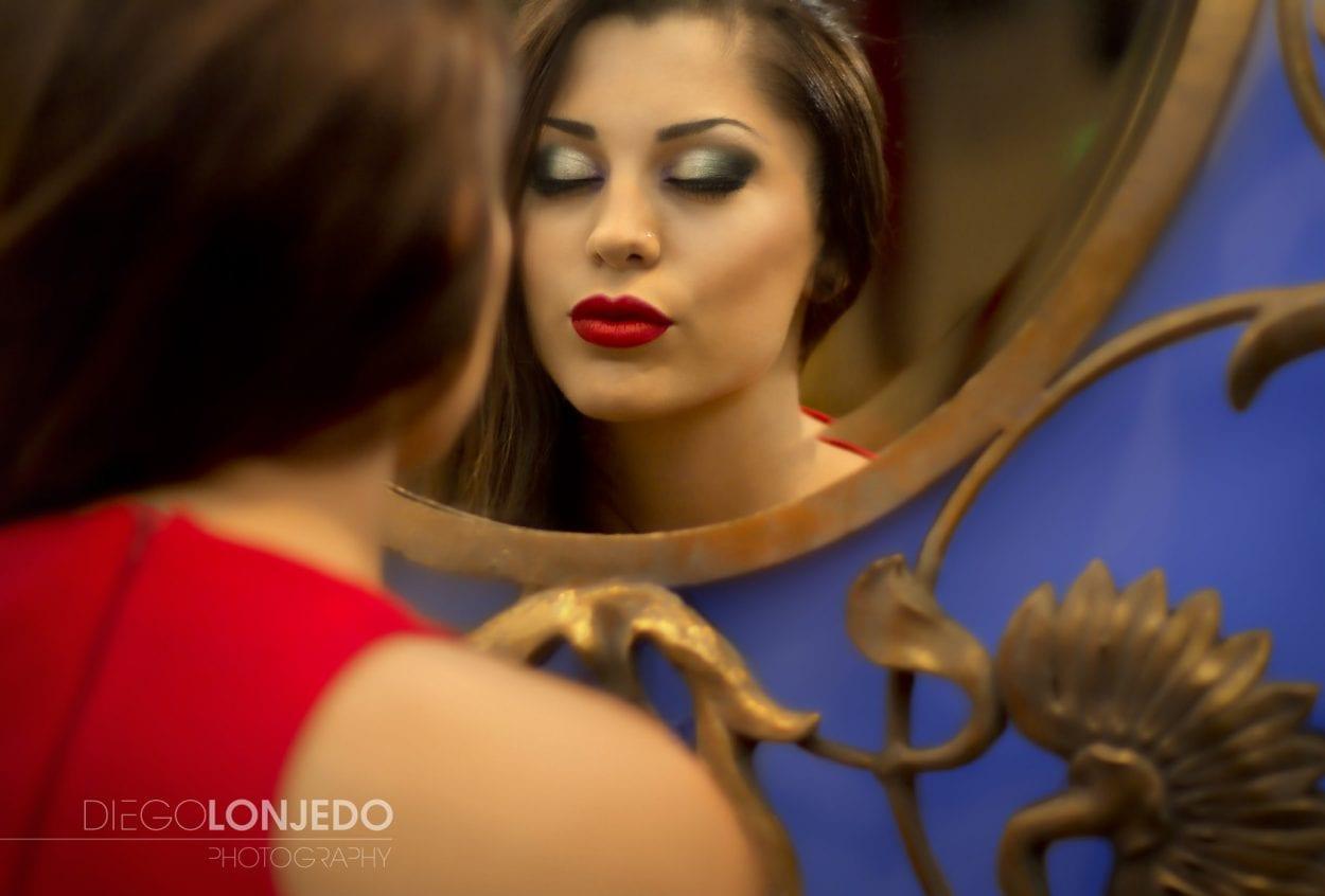 Fotografía de retrato glamour
