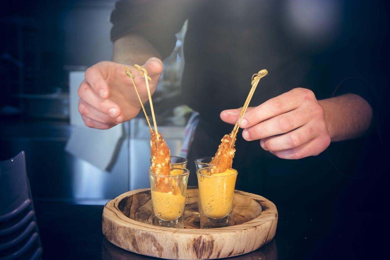 Fotografía producto restaurante Palasiet