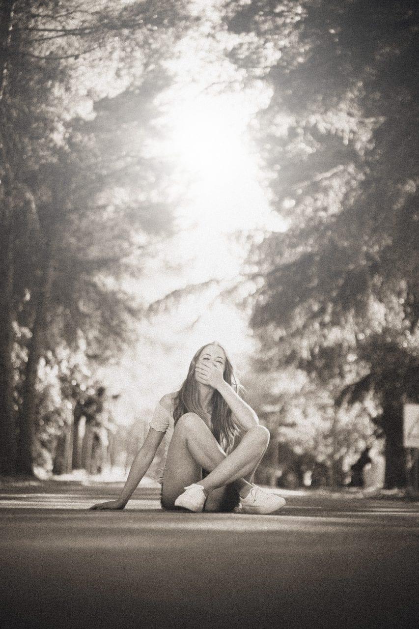 Fotografía retrato Yaiza en el Embalse del Sitjar