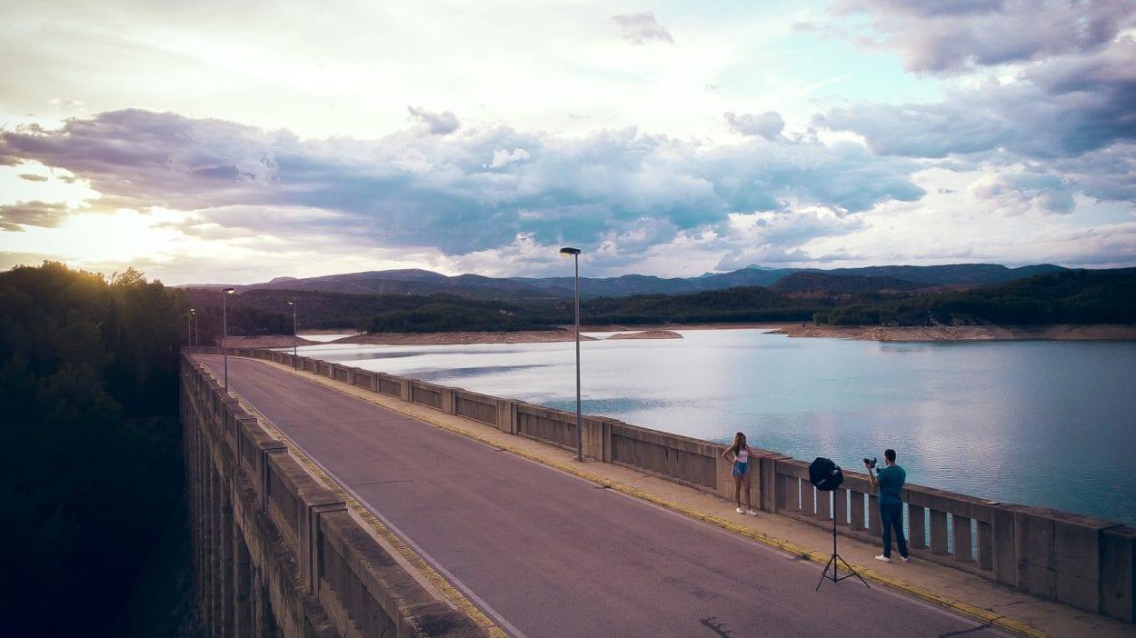 Fotografía de paisaje en el Embalse del Sitjar