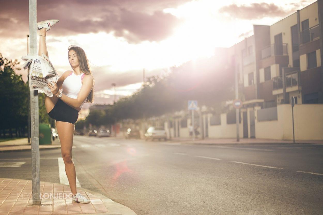 Fotografía retrato fitkid en la calle