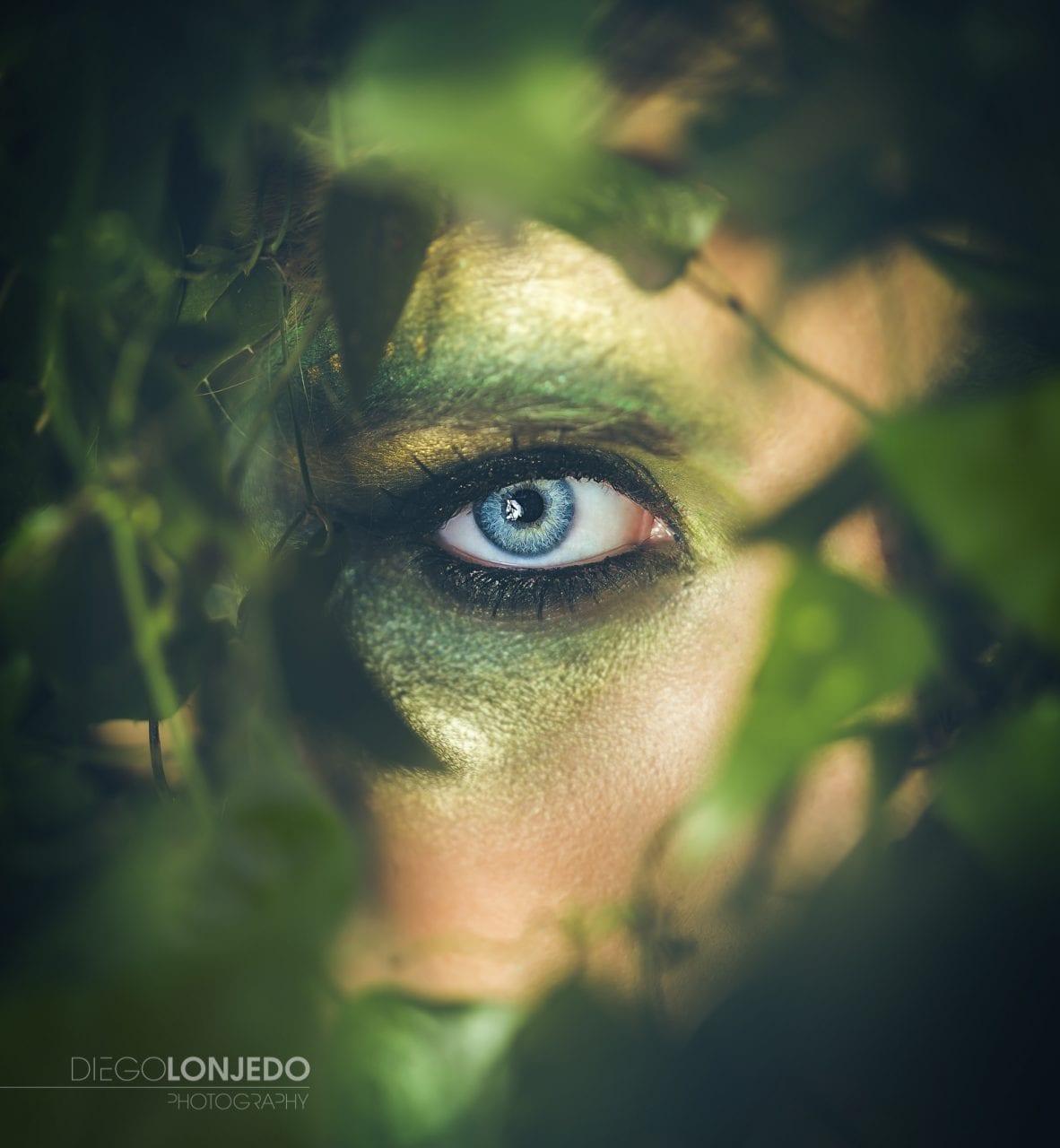Retrato La mirada de Eros