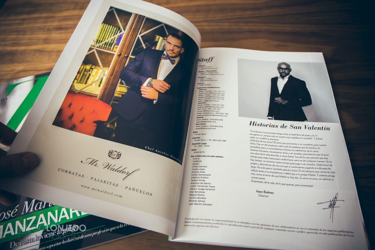 Revista Z febrero fotografía