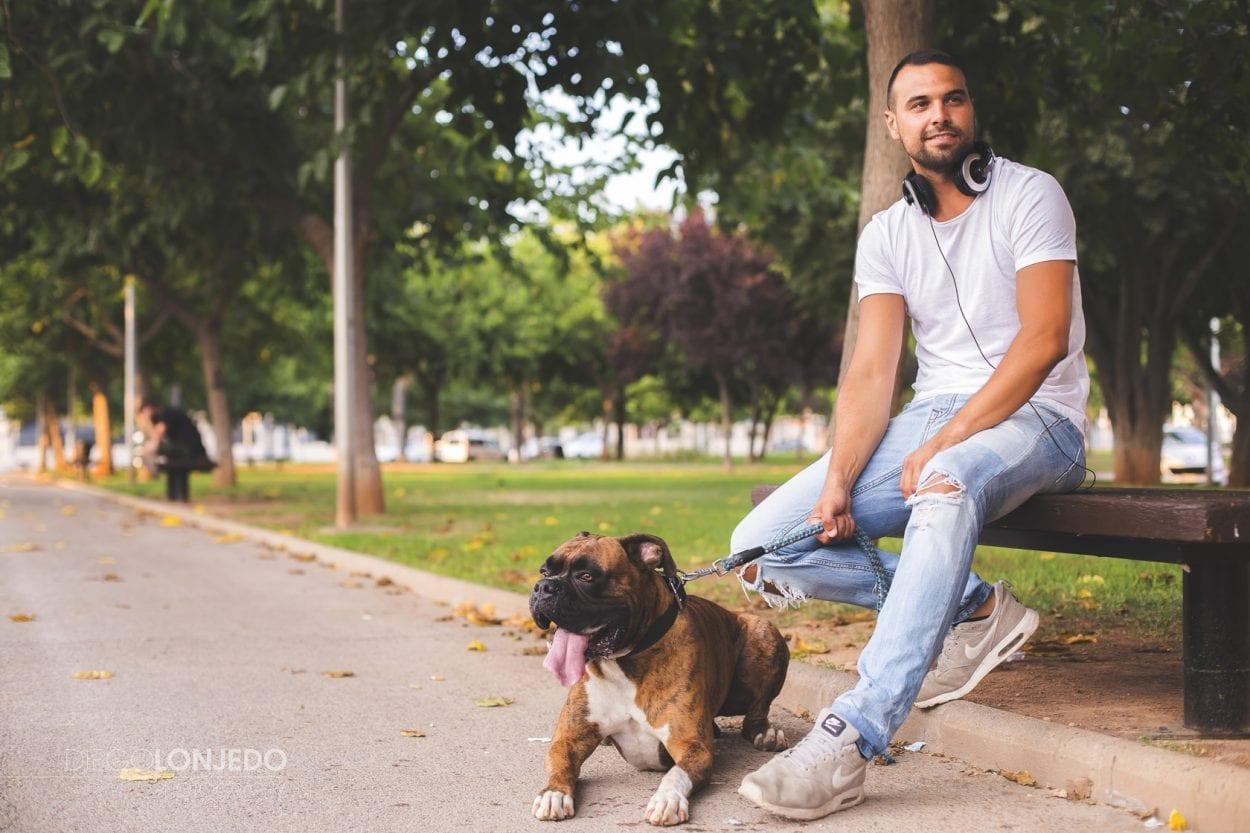 Sesión de fotos a Carlos Castillo