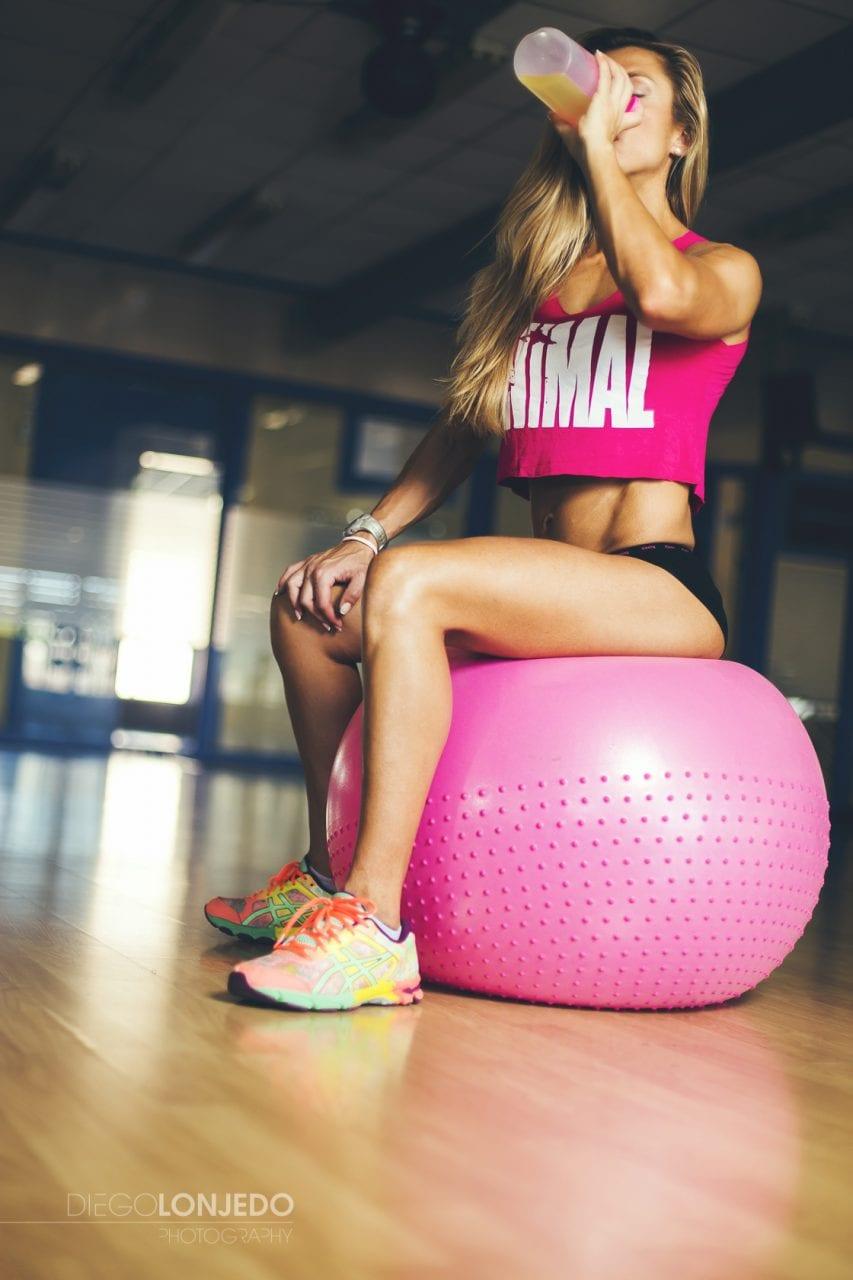 Sesión de fotos de bodybuilding