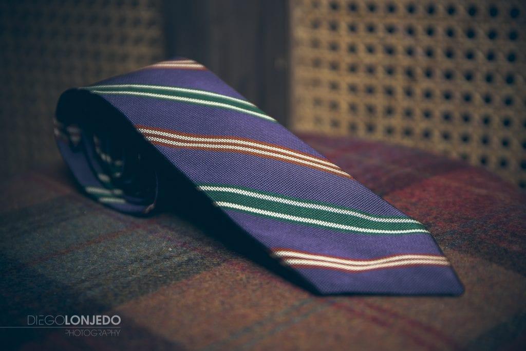 fotografía de catálogo corbata