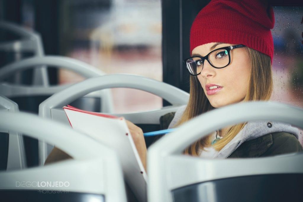 Fotografía en un autobús a Ale Becker