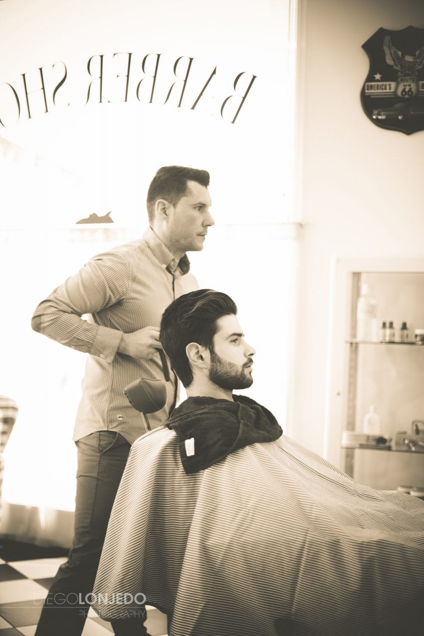 retrato Barber Shop